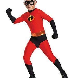Large Kids Dash Skin Suit Costume New Halloween